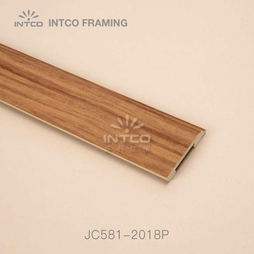 JC581-2018P PS baseboard moulding wood finish