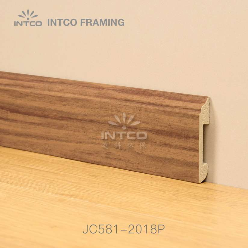 JC581-2018P PS picture frame mouldings for skirting boards
