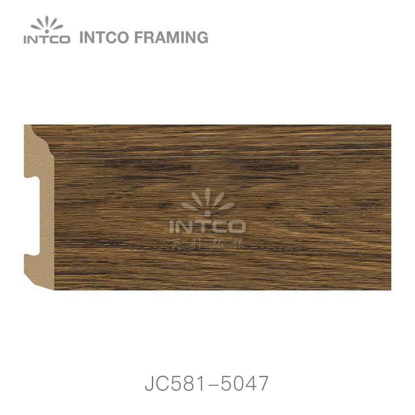 JC581-5047 PS baseboard moulding swatch sample