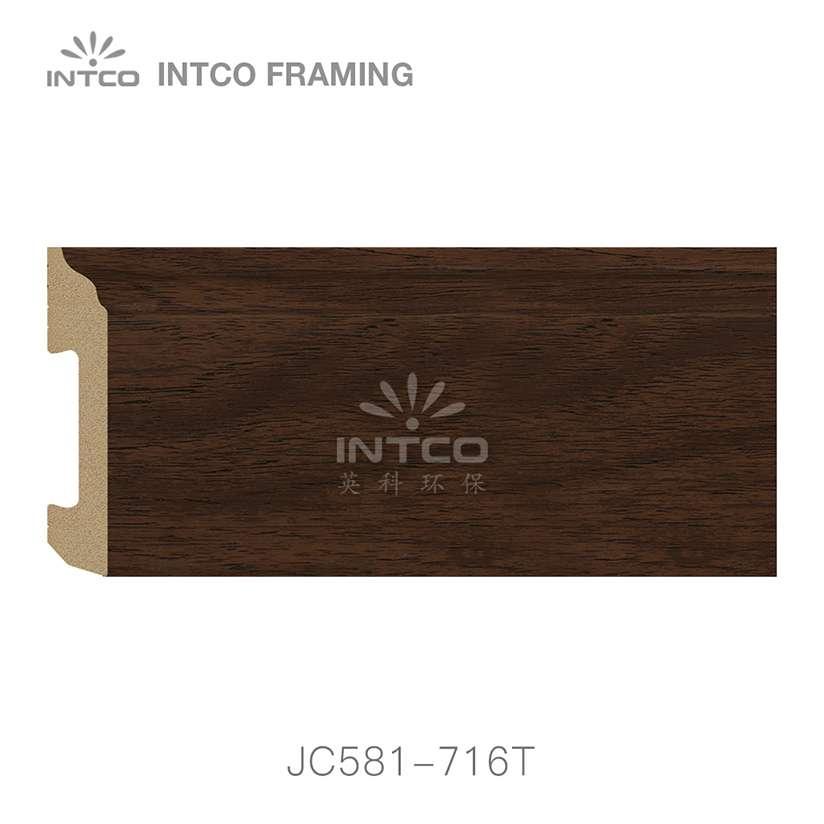 JC581-716T PS baseboard moulding swatch sample