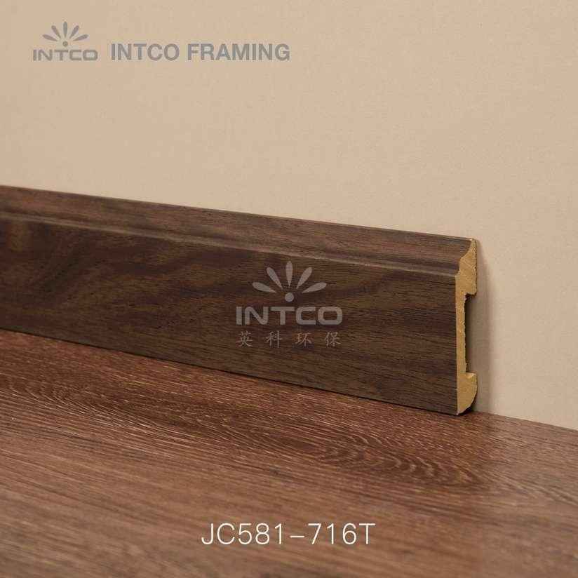 JC581-716T PS baseboard moulding design