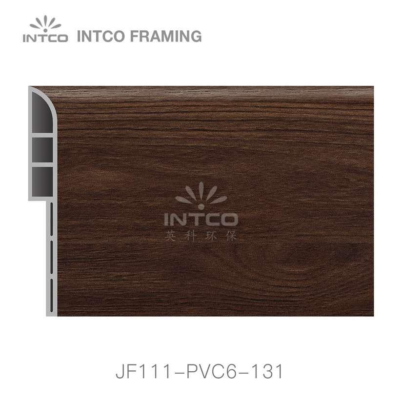 INTCO JF111-PVC6-131 PVC baseboard moulding for sale