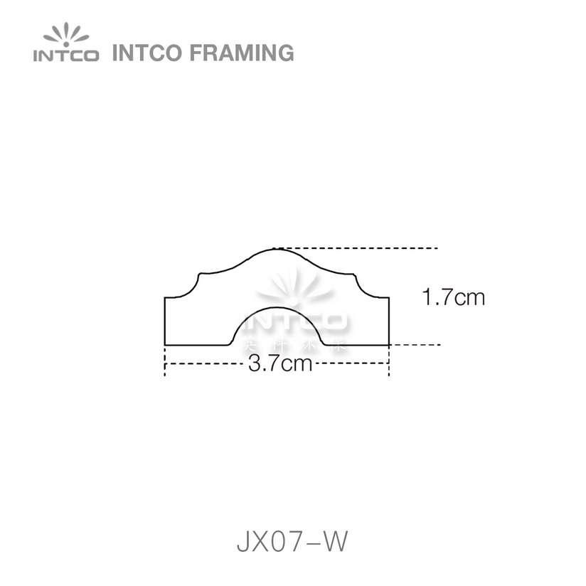 INTCO JX07-W edging moulding profiles