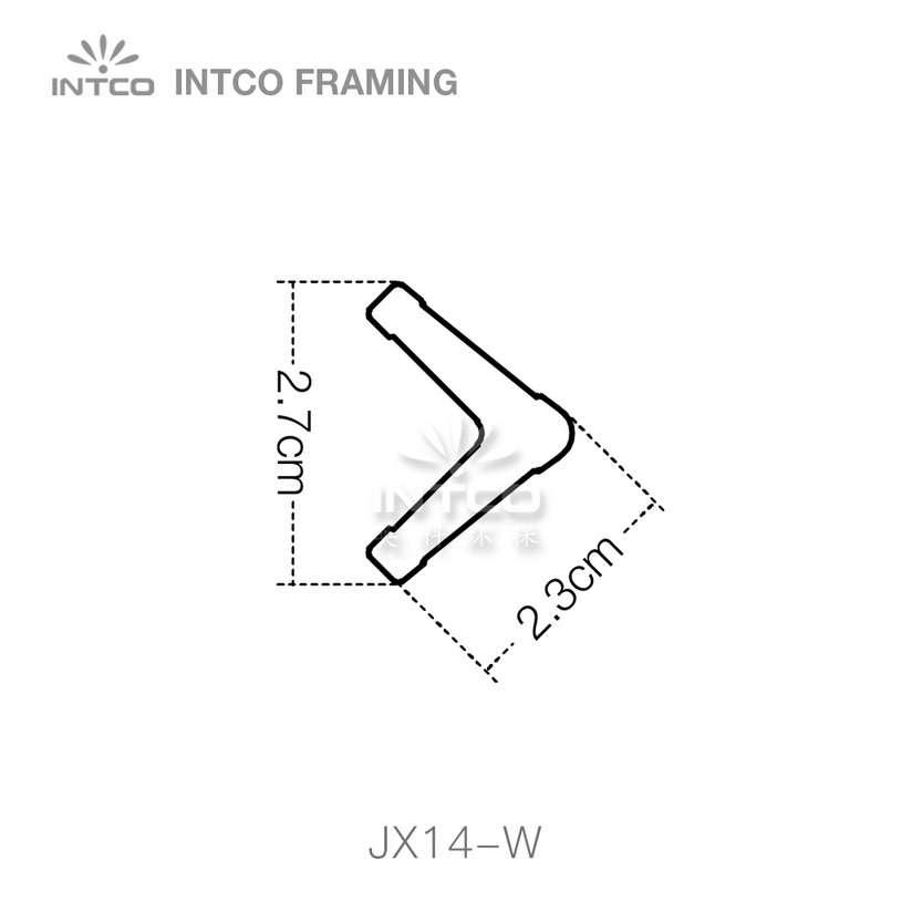 JX14-W corner moulding profile