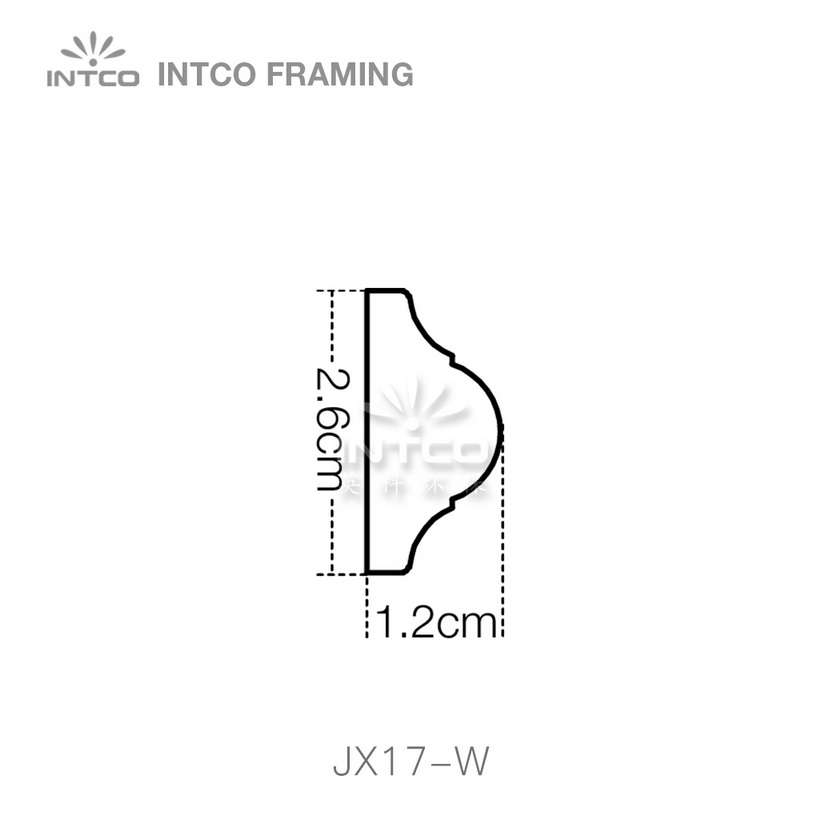INTCO JX17-W edging moulding profiles