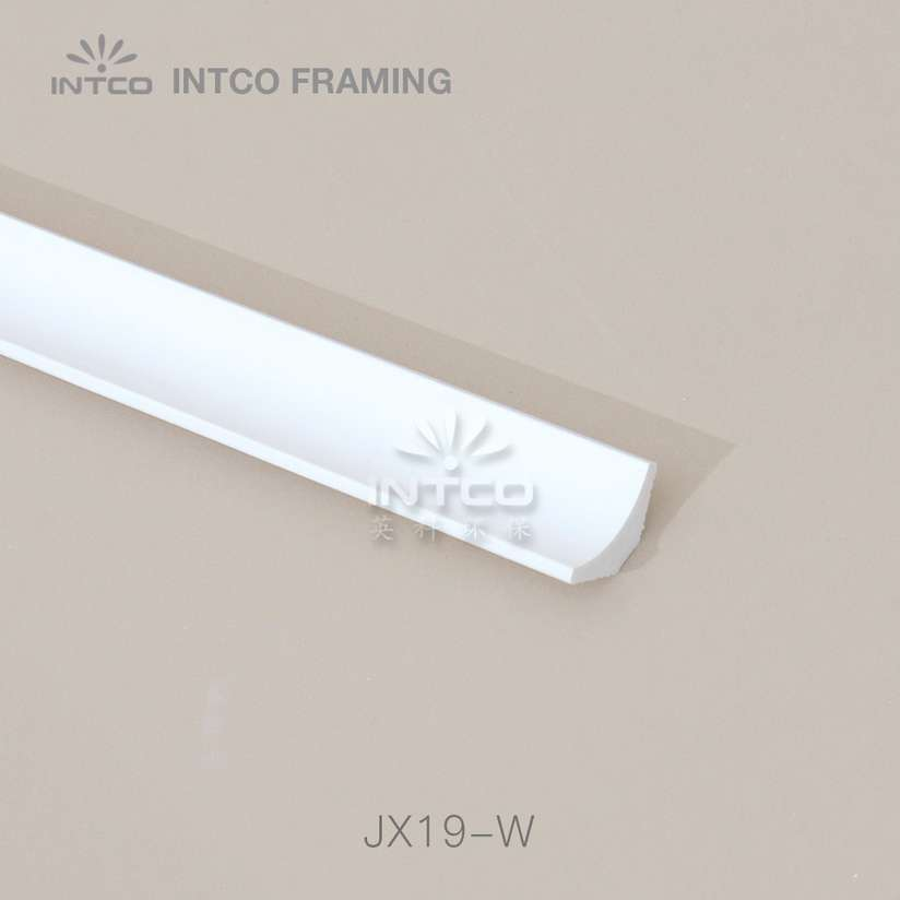 JX19-W white crown moulding manufacturer