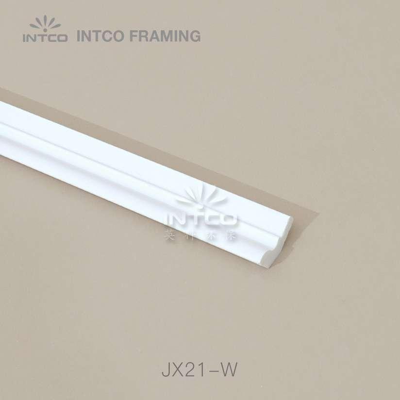 JX21-W white crown moulding manufacturer