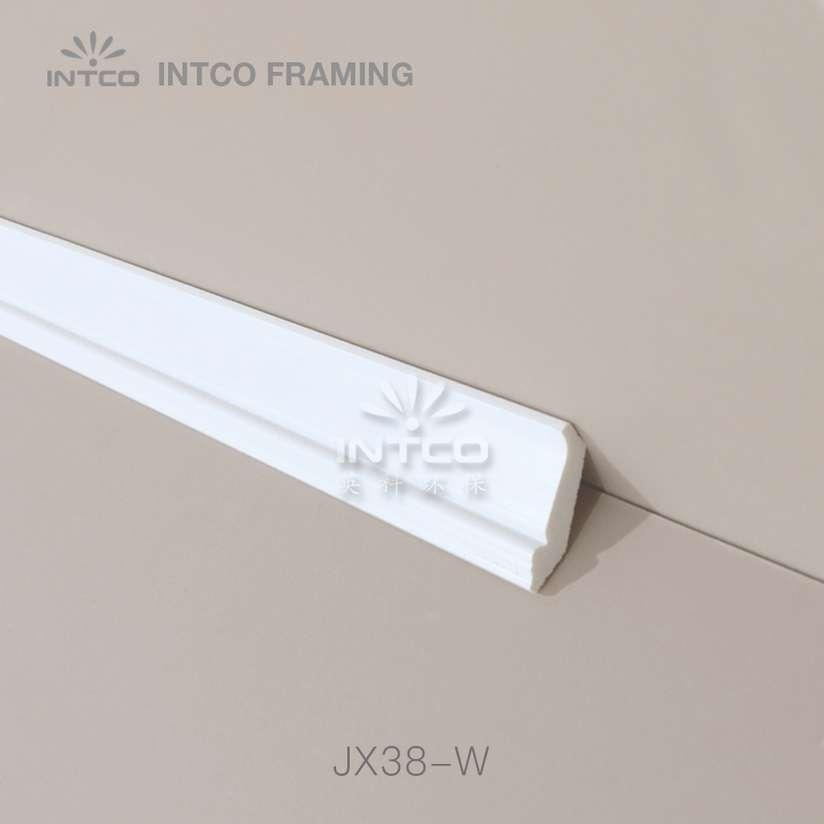 INTCO JX38-W white crown moulding