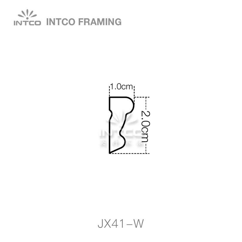 INTCO JX41-A-G08W1 edging moulding profile