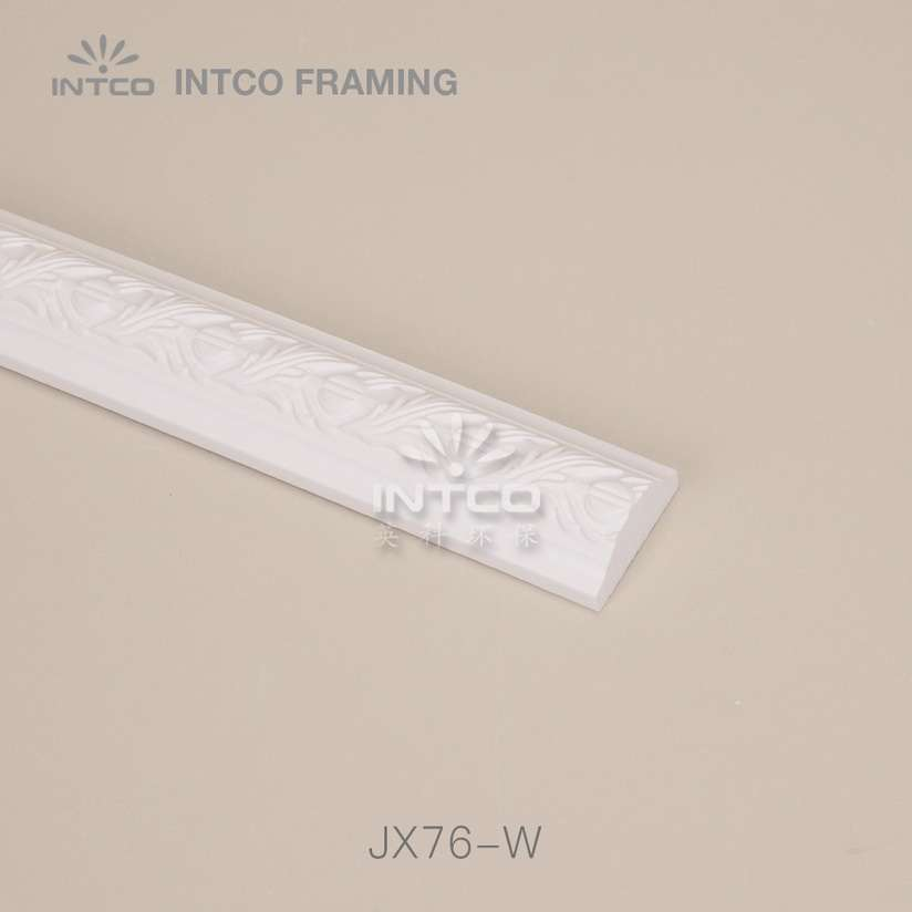INTCO JX76-W white chair rail moulding