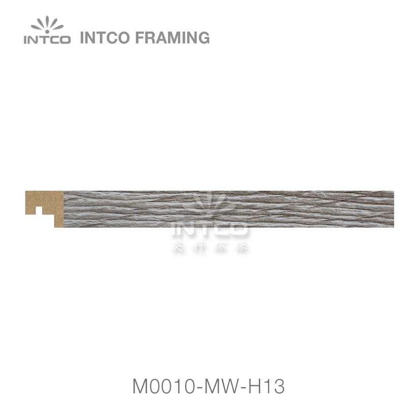 M0010-MW-H13 MDF picture frame moulding swatch sample