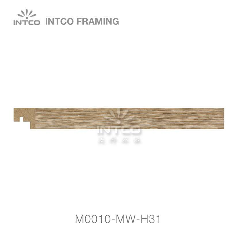 M0010-MW-H31 MDF picture frame moulding swatch sample