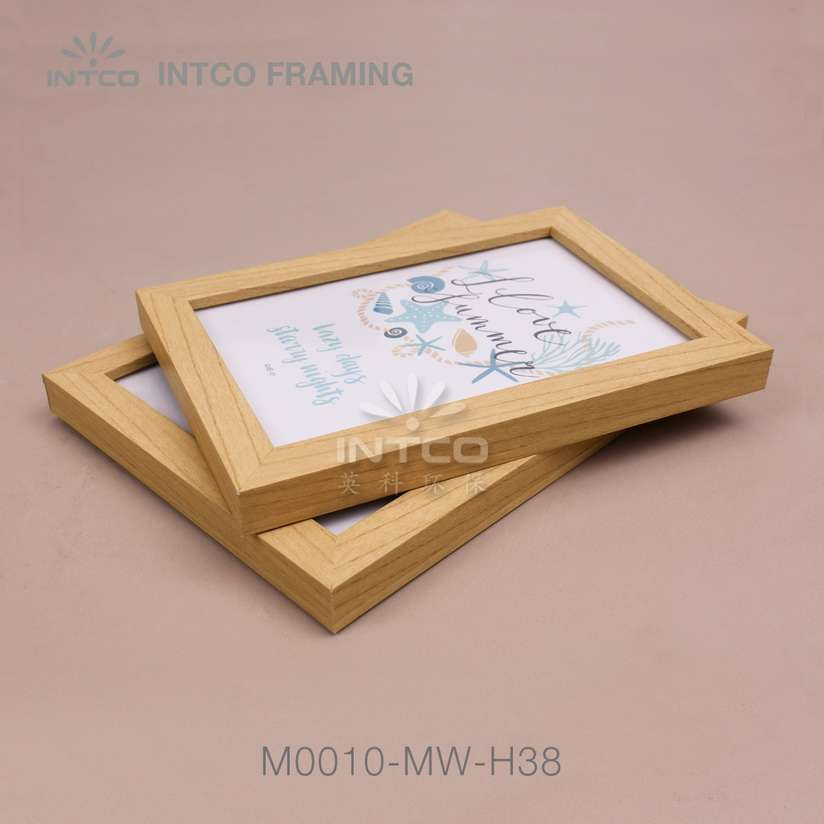 M0010-MW-H38 MDF picture frame mouldings for table picture frame idea