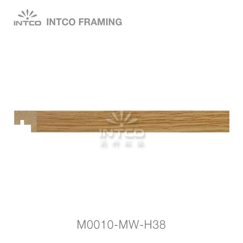 M0010-MW-H38 MDF picture frame moulding swatch sample