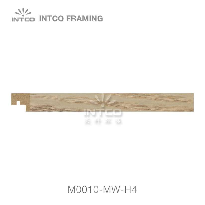 M0010-MW-H4 MDF picture frame moulding swatch sample