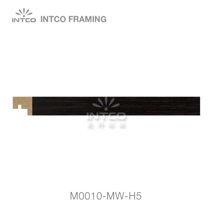 M0010-MW-H5 MDF picture frame moulding swatch sample