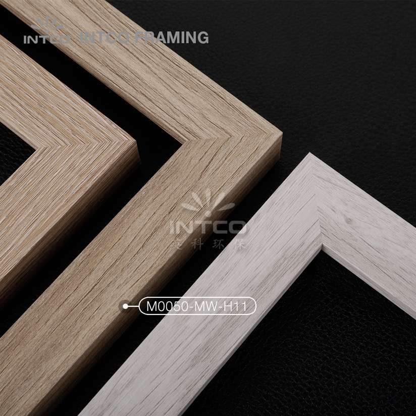 M0050-MW-H11 MDF picture frame mouldings light wood finish