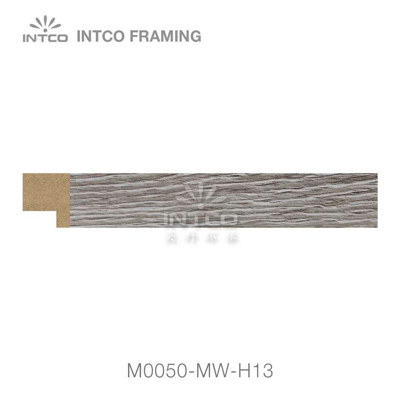 M0050-MW-H13 MDF picture frame moulding swatch sample