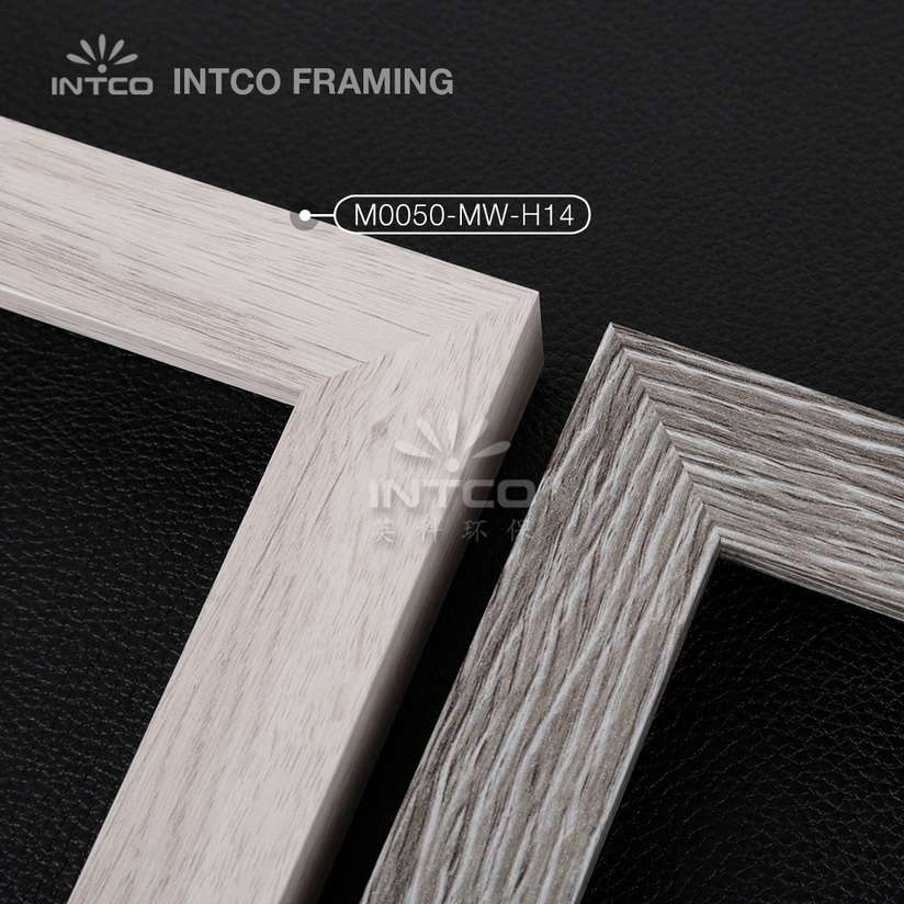 M0050-MW-H14 MDF picture frame mouldings light wood finish