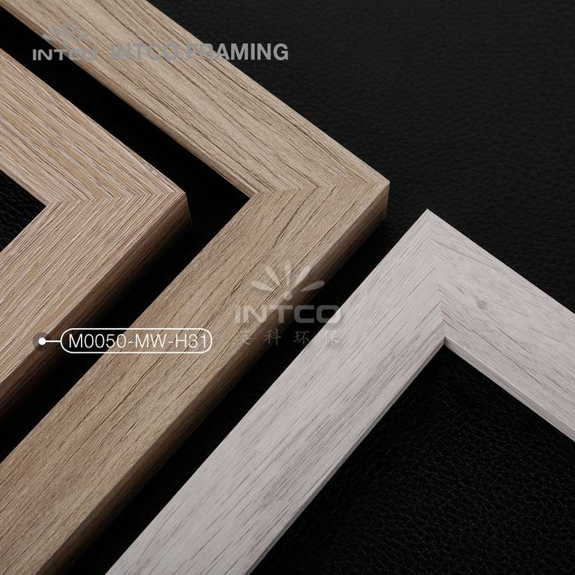 M0050-MW-H31 MDF picture frame mouldings light wood finish