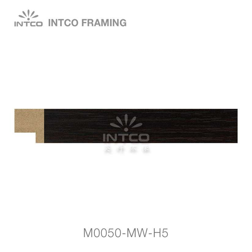 M0050-MW-H5 MDF picture frame moulding swatch sample