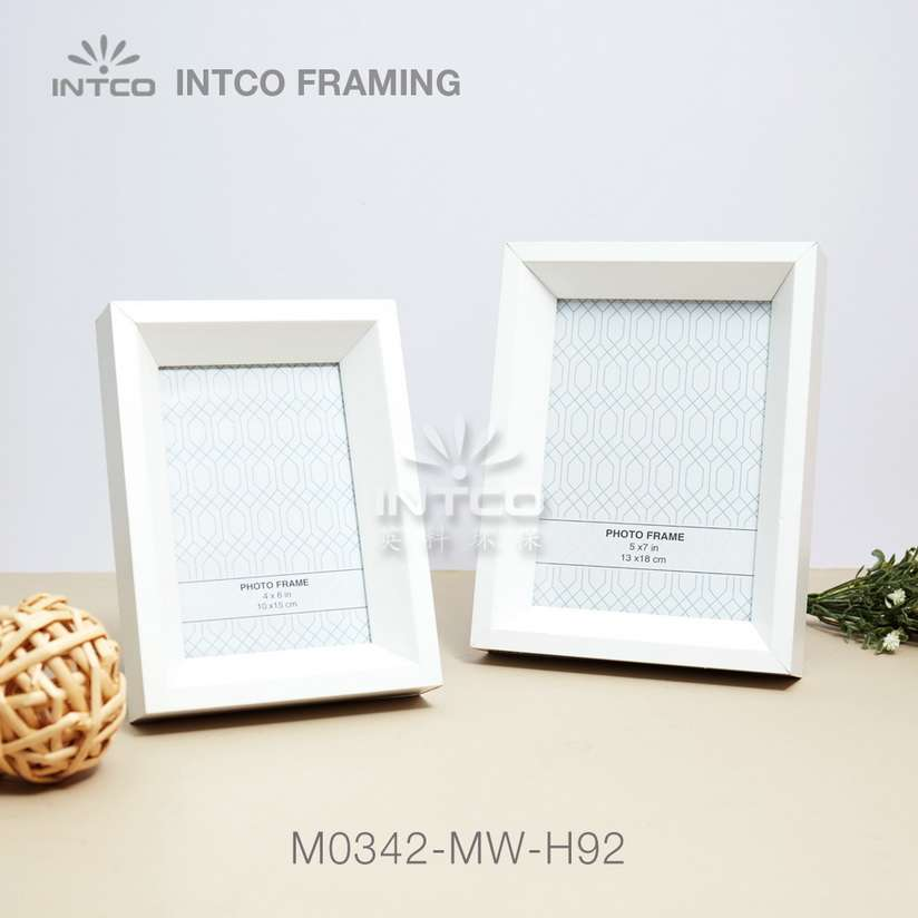 #M0342 white MDF picture frame moulding ideas
