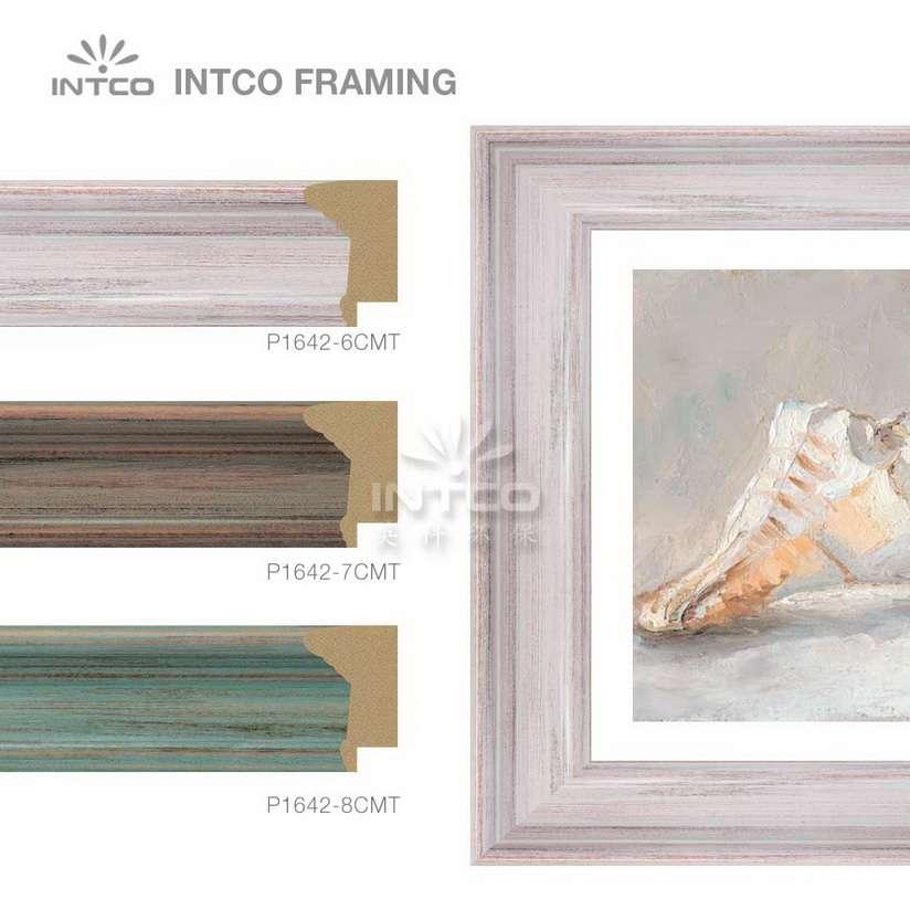 INTCO P1642-6CMT picture frame moulding ideas