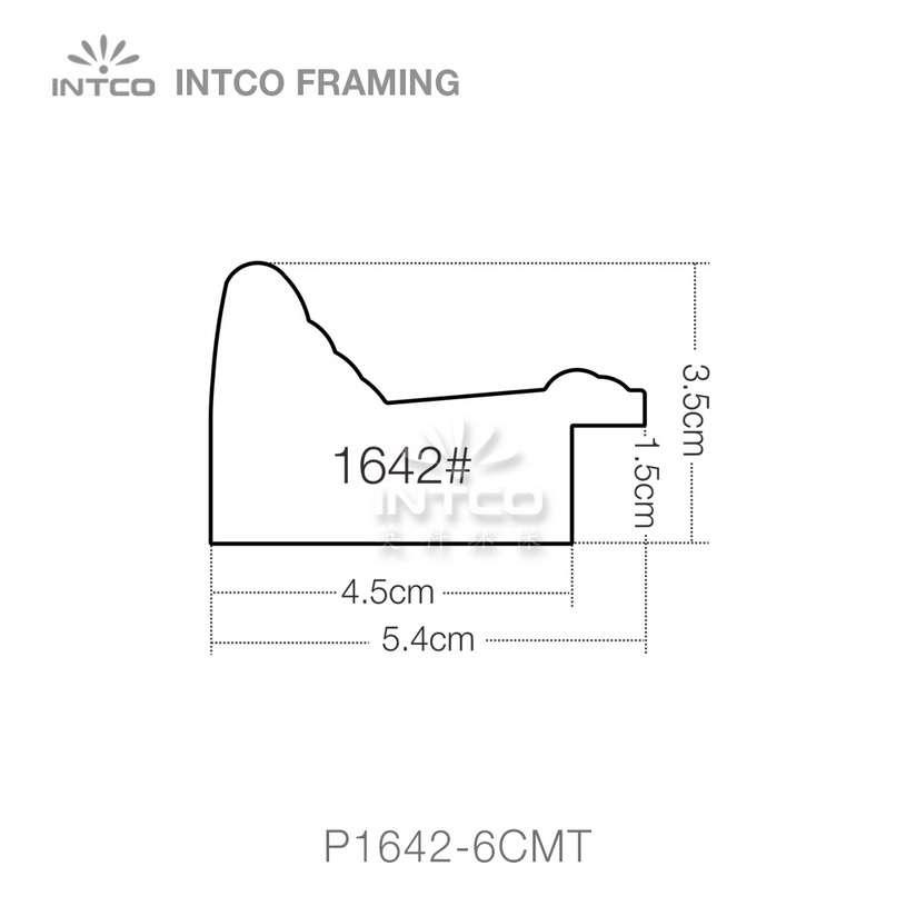 INTCO P1642 series PS mirror picture frame profile