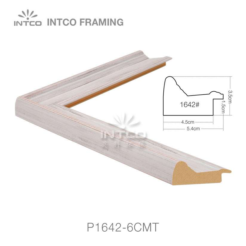 INTCO P1642-6CMT wood finish picture frame moulding