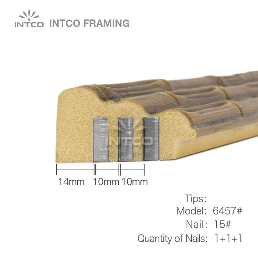 tips for nailing P6457 moulding