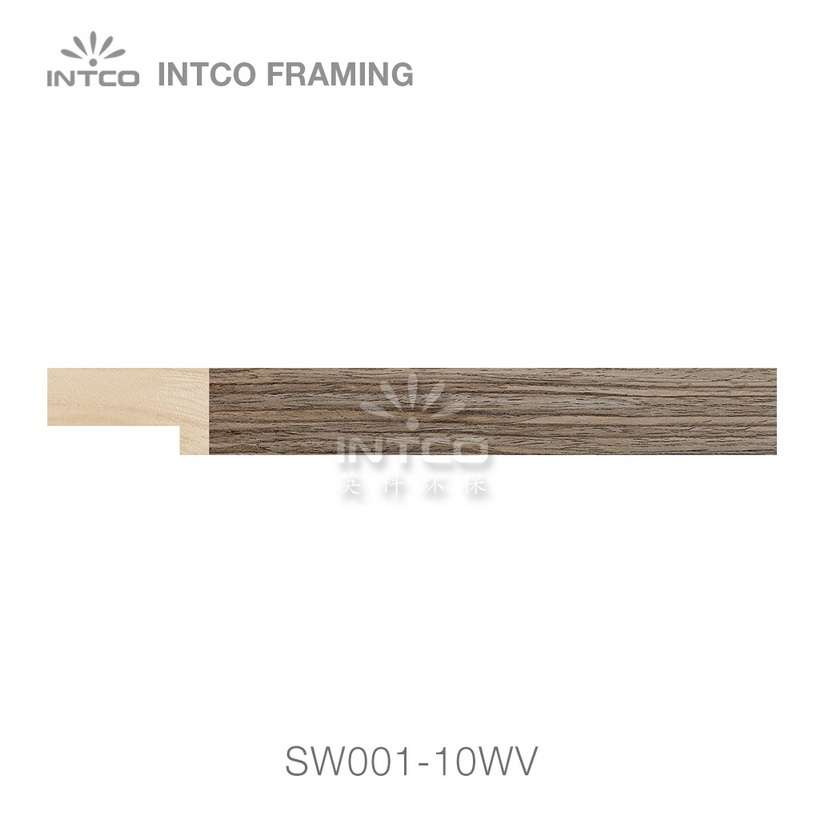 SW001-10WV wood picture frame moulding swatch sample