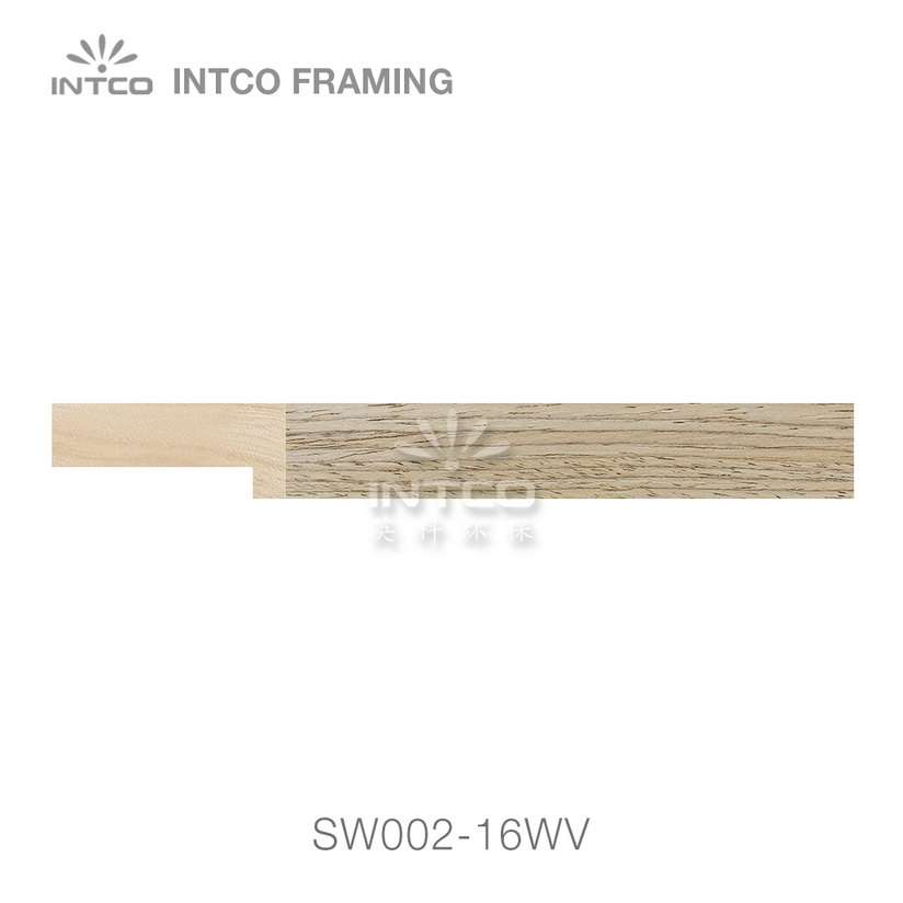 SW002-16WV wood picture frame moulding swatch sample