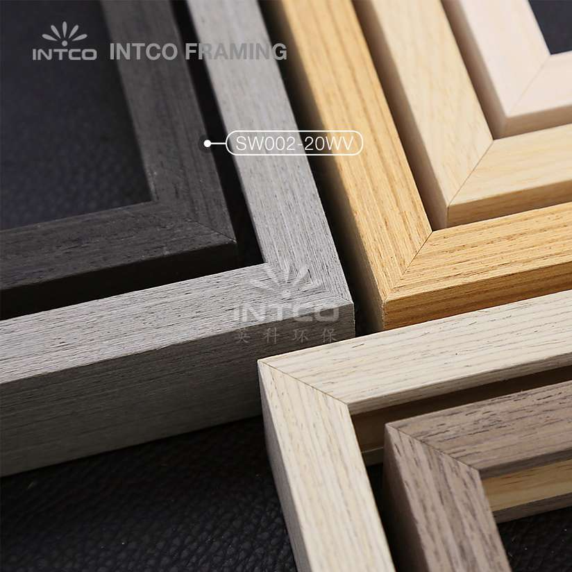 SW002 series wood picture frame mouldings