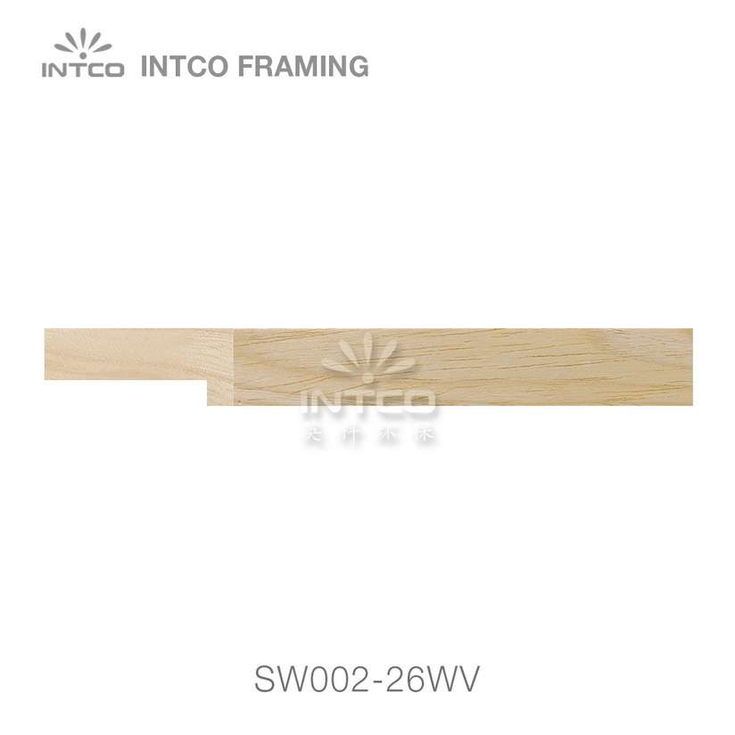 SW002-26WV wood picture frame moulding swatch sample