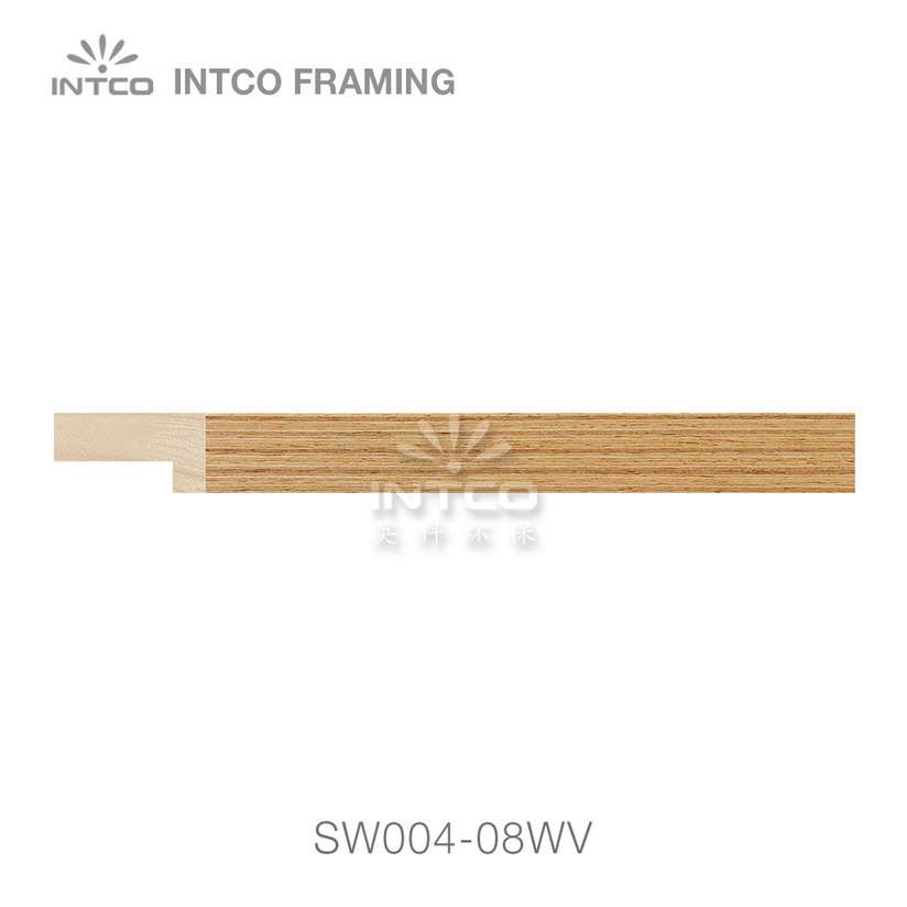 SW004-08WV wood picture frame moulding swatch sample