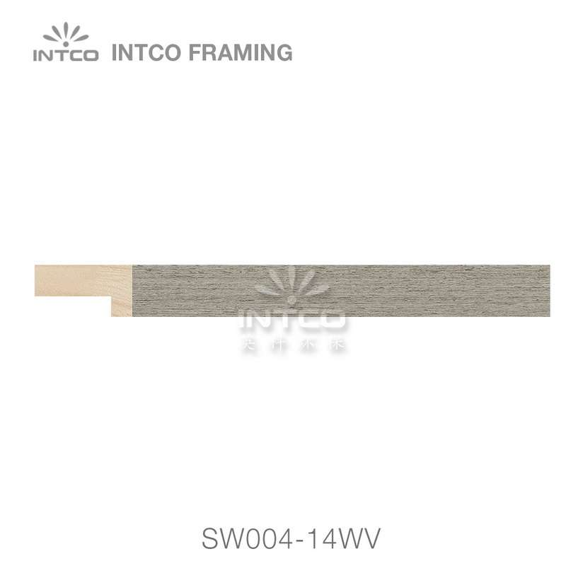 SW004-14WV wood picture frame moulding swatch sample