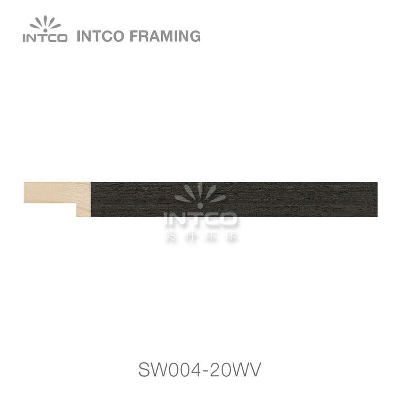 SW004-20WV wood picture frame moulding swatch sample