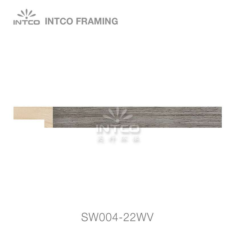 SW004-22WV wood picture frame moulding swatch sample