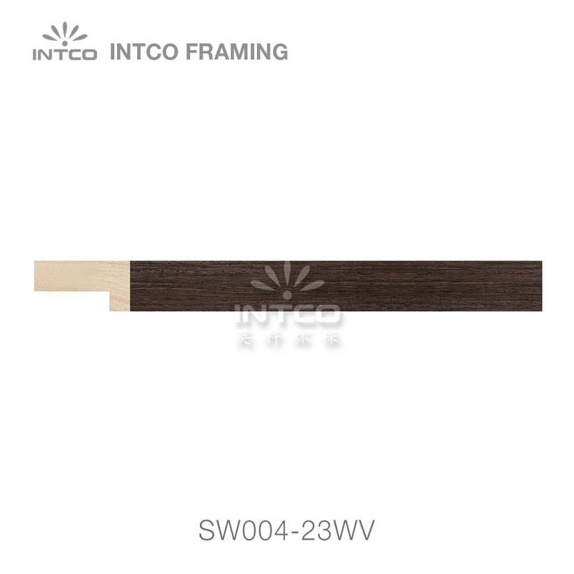 SW004-23WV wood picture frame moulding swatch sample