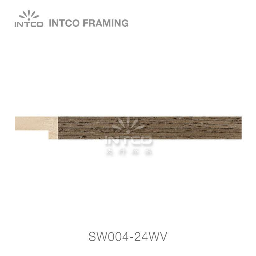 SW004-24WV wood picture frame moulding swatch sample
