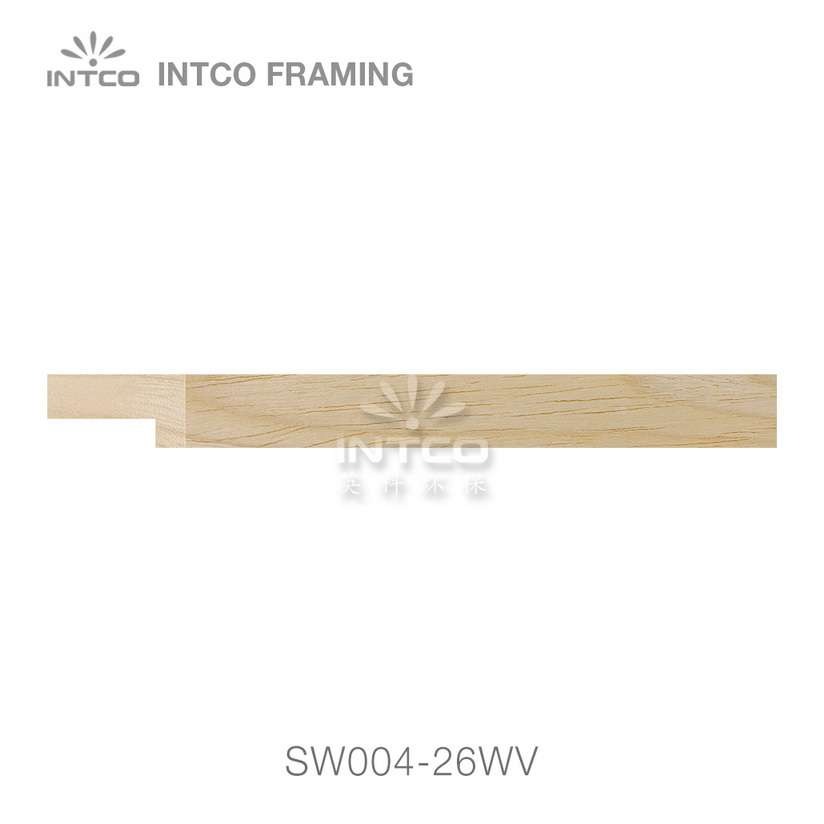 SW004-26WV wood picture frame moulding swatch sample