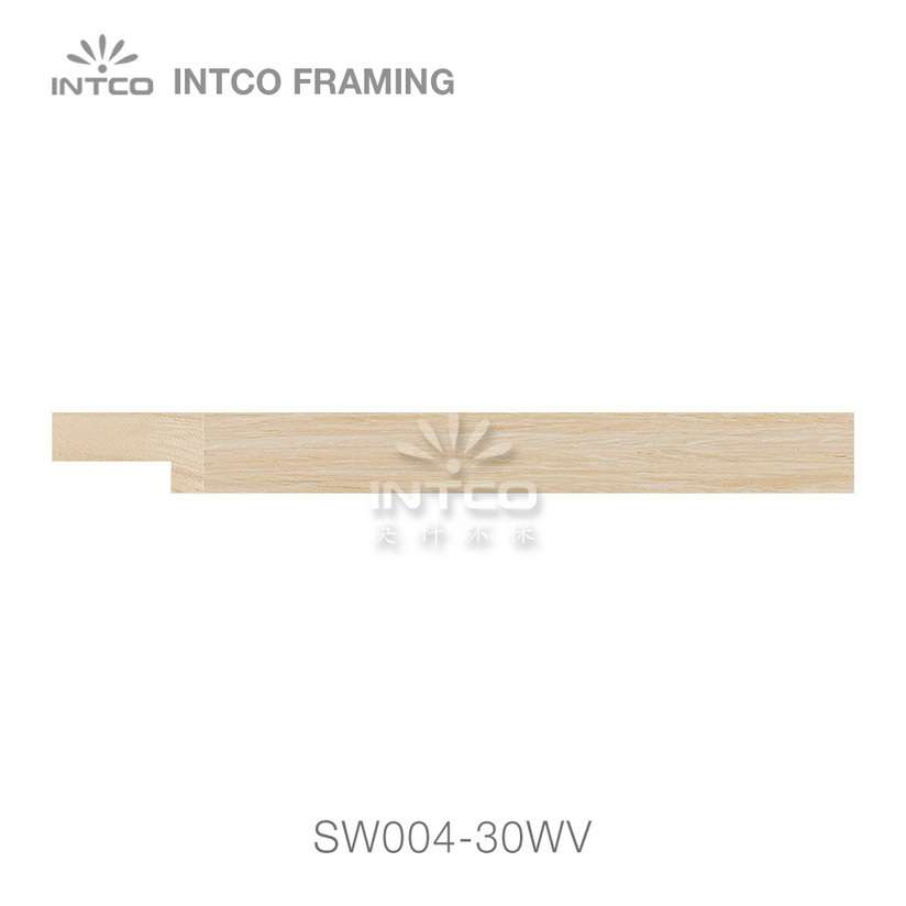 SW004-30WV wood picture frame moulding swatch sample