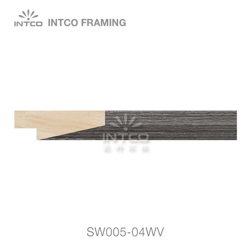 SW005-04WV wood picture frame moulding swatch sample
