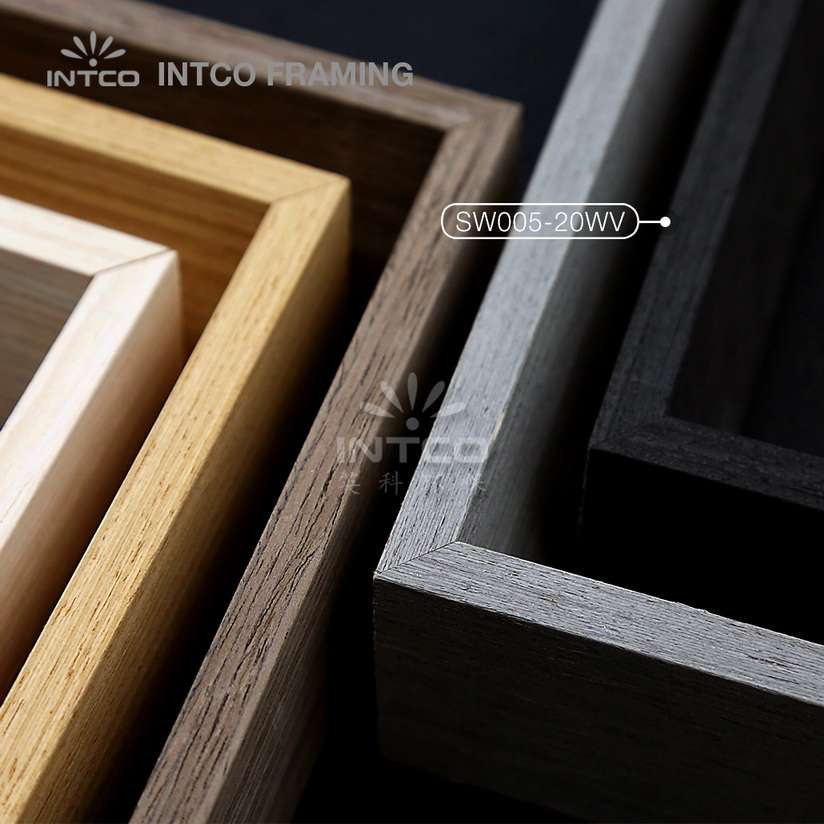 SW005 series wood picture frame mouldings