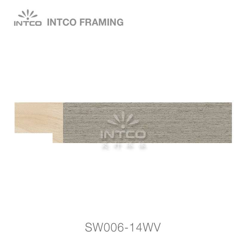 SW006-14WV wood picture frame moulding swatch sample