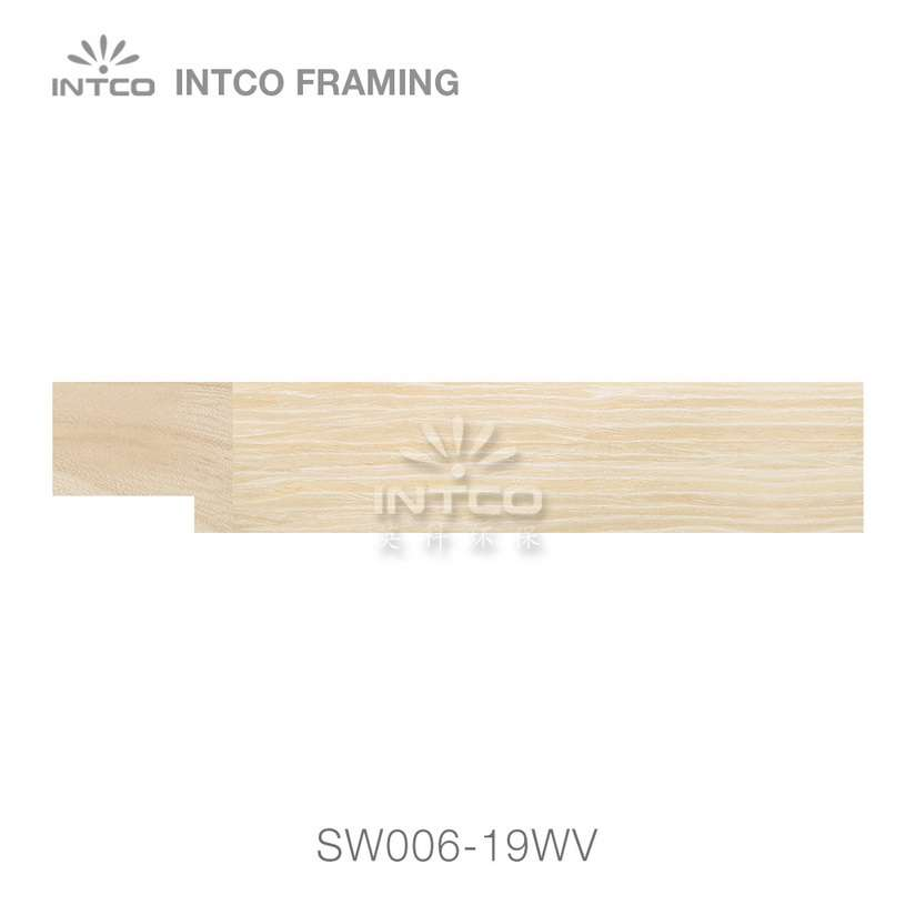 SW006-19WV wood picture frame moulding swatch sample