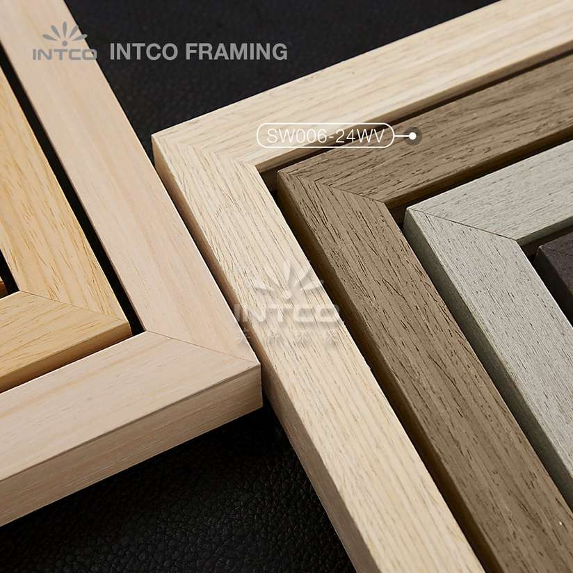SW006 series wood picture frame mouldings