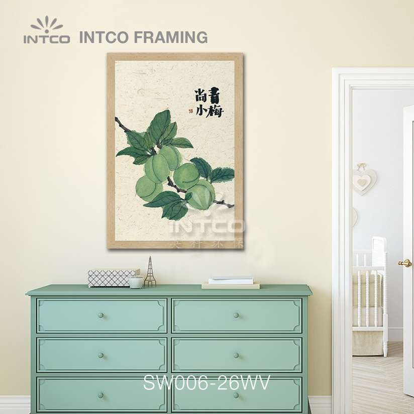 SW006-26WV wood picture frame moulding design ideas for wall