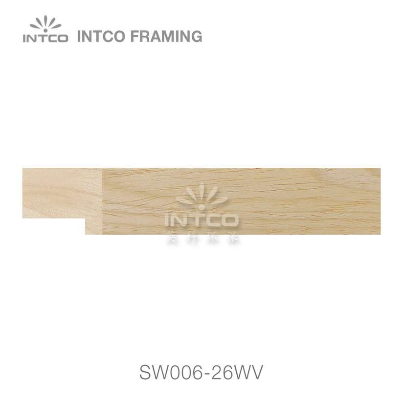 SW006-26WV wood picture frame moulding swatch sample