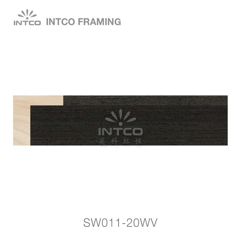 SW011-20WV wood picture frame moulding swatch sample